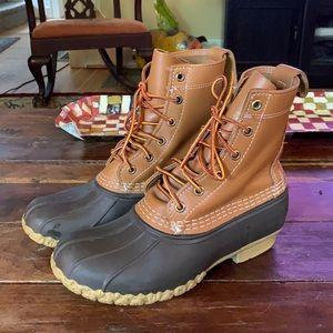 LL Bean rubber Bean boot.